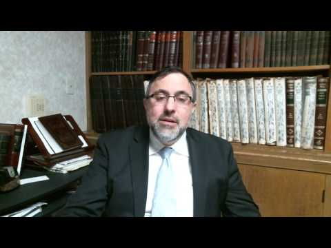 Video Vort - Shemos 5777 - Rabbi Etan Tokayer