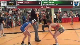 14 Cadet 88 Joseph Couch MSJ vs Caitlyn Walker Mohawk Wrestling Club 406537104