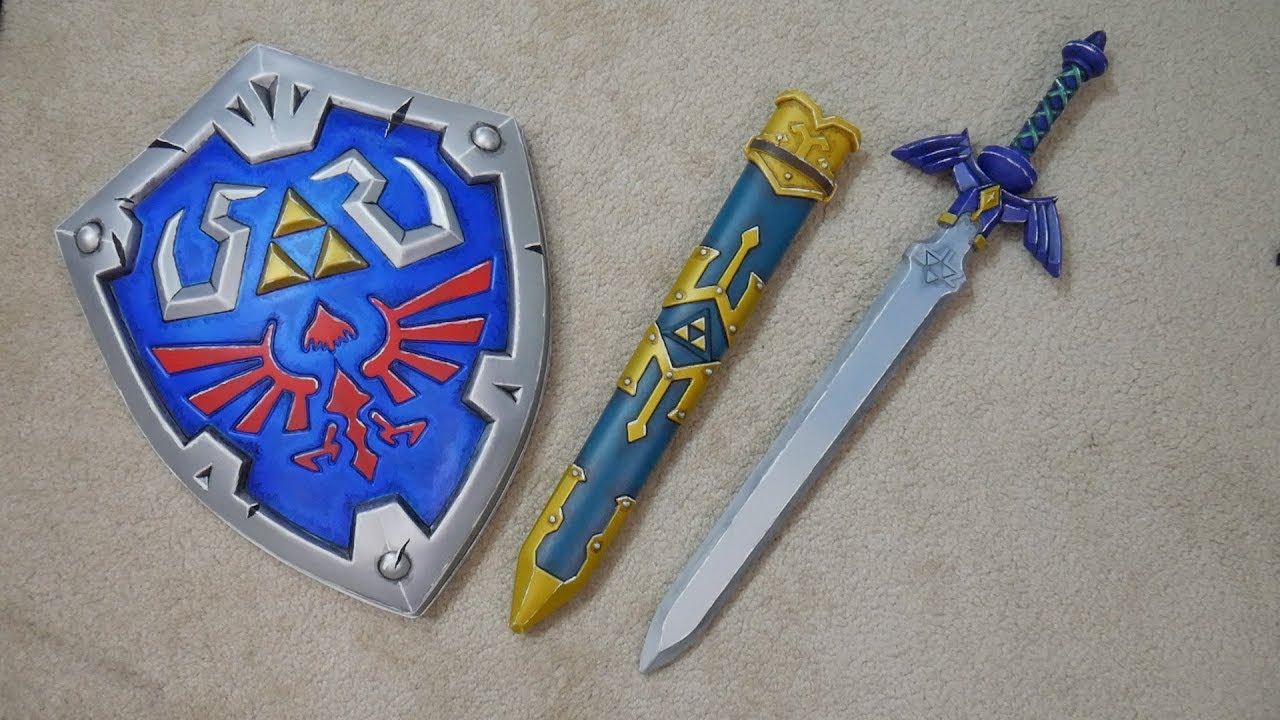 Easy Improving Plastic Prop Master Sword Repaint Youtube