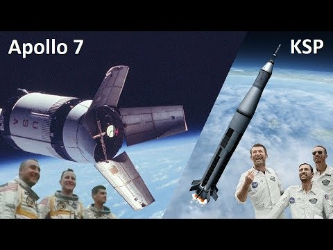 Space Race KSP - Apollo Program - Making History