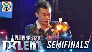 Download Pilipinas Got Talent Season 5 Live Semifinals: Ody Sto. Domingo - Close Up Magician Mp3 and Videos