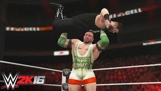 Owens vs. Ryback:  WWE 2K16 Replays Hell In A Cell 2015