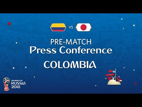 FIFA World Cup™ 2018: Colombia - Japan: Colombia - Pre-Match PC