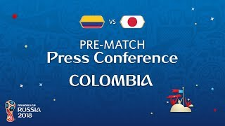 fifa world cup 2018 colombia - japan colombia - pre-match pc