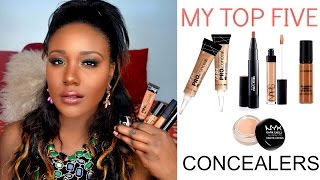 BEST DRUGSTORE + HIGH END CONCEALERS Under Eye, Dark Circles, DarkSpots for Black Women/ Dark Skin