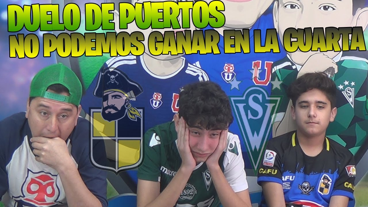 COQUIMBO UNIDO VS SANTIAGO WANDERERS - DERROTA AL HUESO