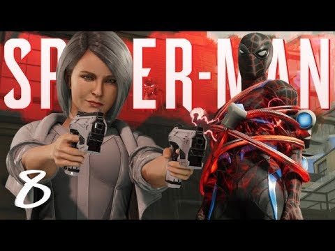 SILVER SABLE & FAKE SPIDERMAN : Marvels Spider-Man PS4 Part 8