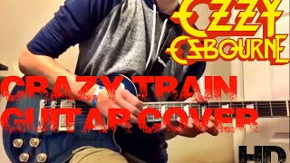 Crazy Train - Ozzy Osbourne Studio Quality Guitar Cover
