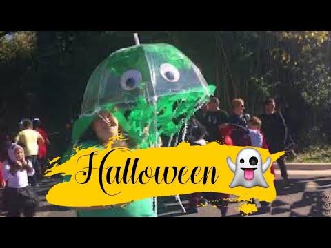 Garrett Park Elementary School Halloween Parade 2017