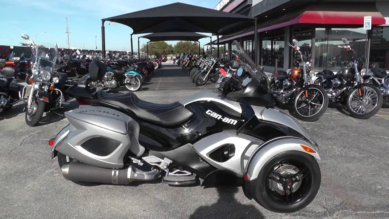 000491 2009 can am spyder gs se5 used motorcycles for sale