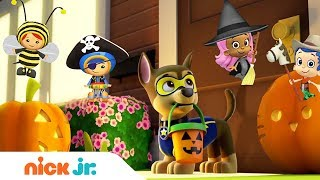 Trick or Treat w/ PAW Patrol, Bubble Guppies, & More! 🎃 Happy Halloween from Nick Jr!