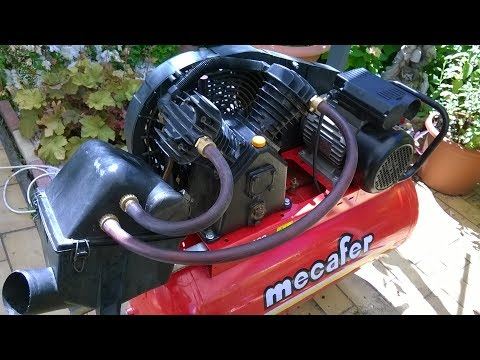 Air compressor : REALLY effective sound reduction modificati