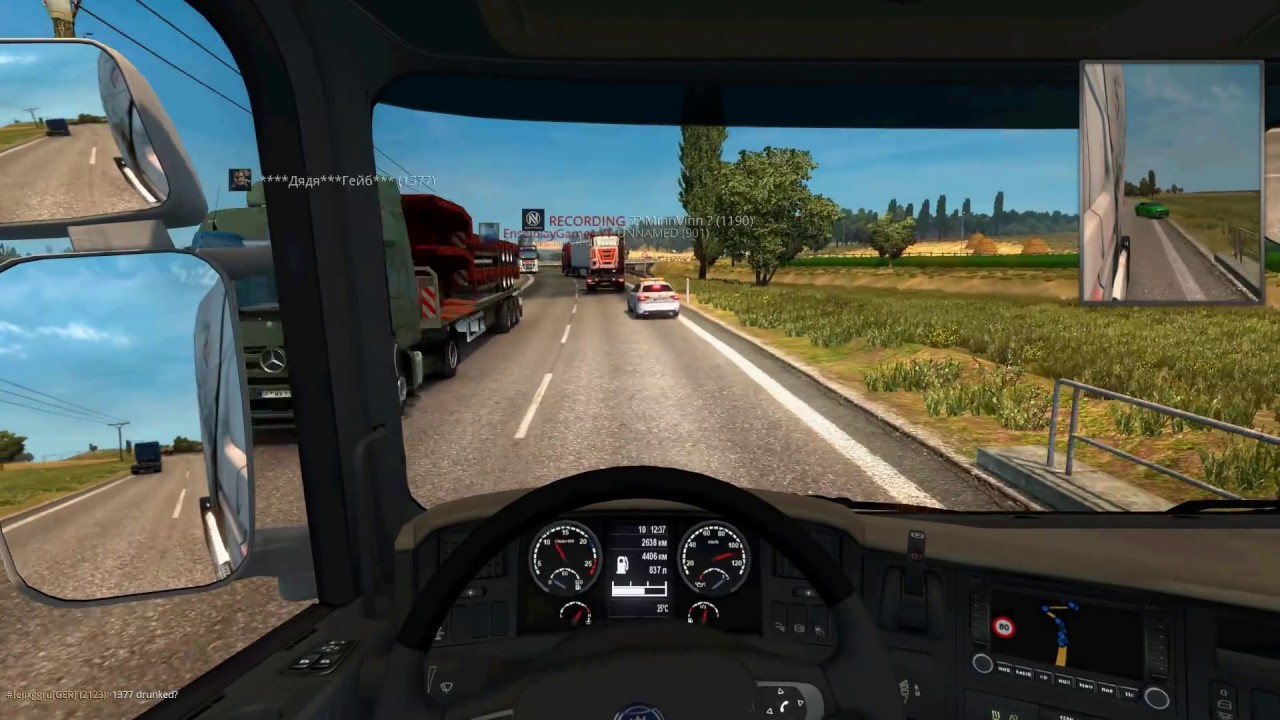 Аварии в euro truck simulator 2 - Смешные моменты и приколы в ets 2 (угар и эпик) Не пропусти #4