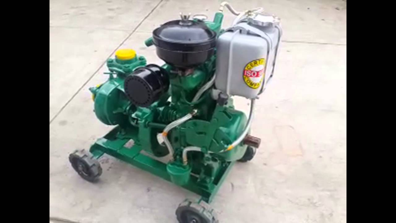 Mini Diesel Engine Pumpset Wwwvidhatagroupcom Youtube