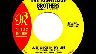 1965 HITS ARCHIVE: Just Once In My Life - Righteous Brothers