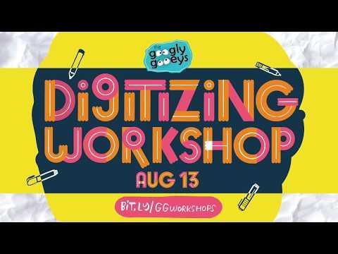 Digitizing Workshop on August 13