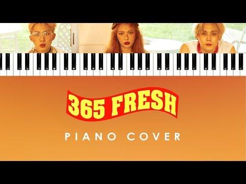 Triple H - '365 FRESH' (Piano Cover Instrumental)