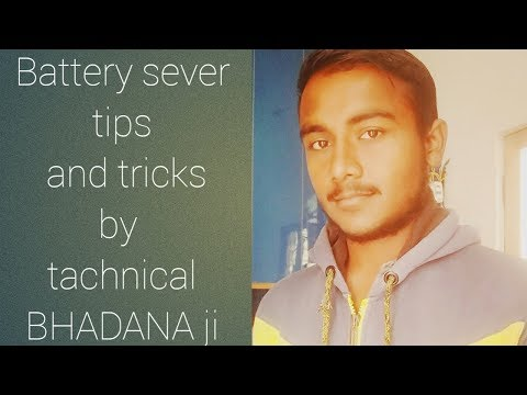 Battery sever tips & trick on Android tachnical bhadana ji