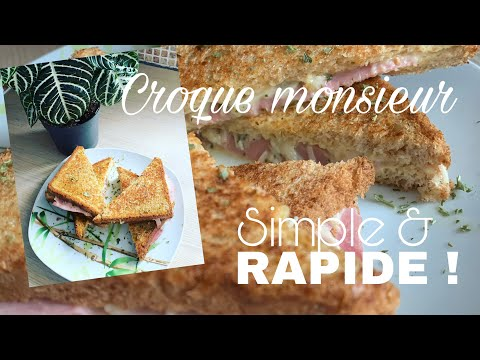 croque-monsieur-simple-&-rapide-!-by-cyril-lignac-|-kévin's-cook