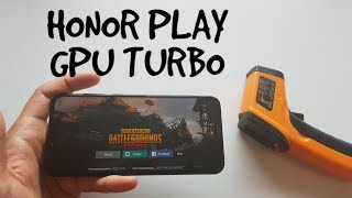 Honor Play GPU Turbo test PUBG Mobile HDR mode/ Is it any good for gaming?