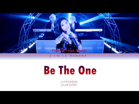 PANDORA Feat. Beverly- Be The One Lyrics [Color Coded_Jap_Rom_Eng]