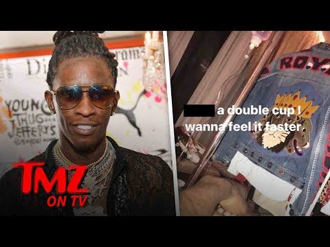Young Thug Posted A Pic Of His Lean IV | TMZ TV