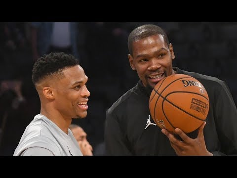 Westbrook and Durant Makeup at All-Star Game! Reunion Soon?? - 동영상