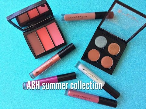 ANASTASIA BEVERLY HILLS SUMMER COLLECTION 2017 | SWATCHES & TRY ON