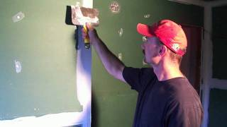 How to mud and tape drywall [2of2]