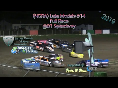 (NCRA) Late Models #14, Full Race, 81 Speedway, 08/17/19