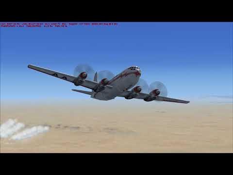 Flight Sim Historian Episode LXXXIII: Boeing 377 Stratocruiser (FSX:SE)