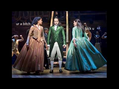 """""""Congratulations"""" but every time Angelica roasts Alexander there's something Extra™ from Hamilton"""