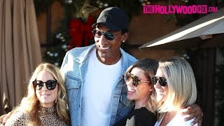 Scottie Pippen Throws Major Shade At Luka Doncic While Leaving Lunch At Il Pastaio In Beverly Hills