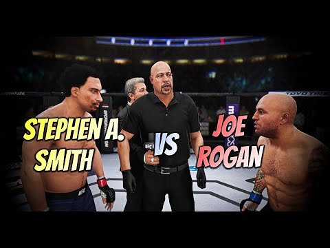 THE BEEF WILL BE SETTLED!  STEPHEN A. SMITH VS JOE ROGAN ON LEGENDARY!