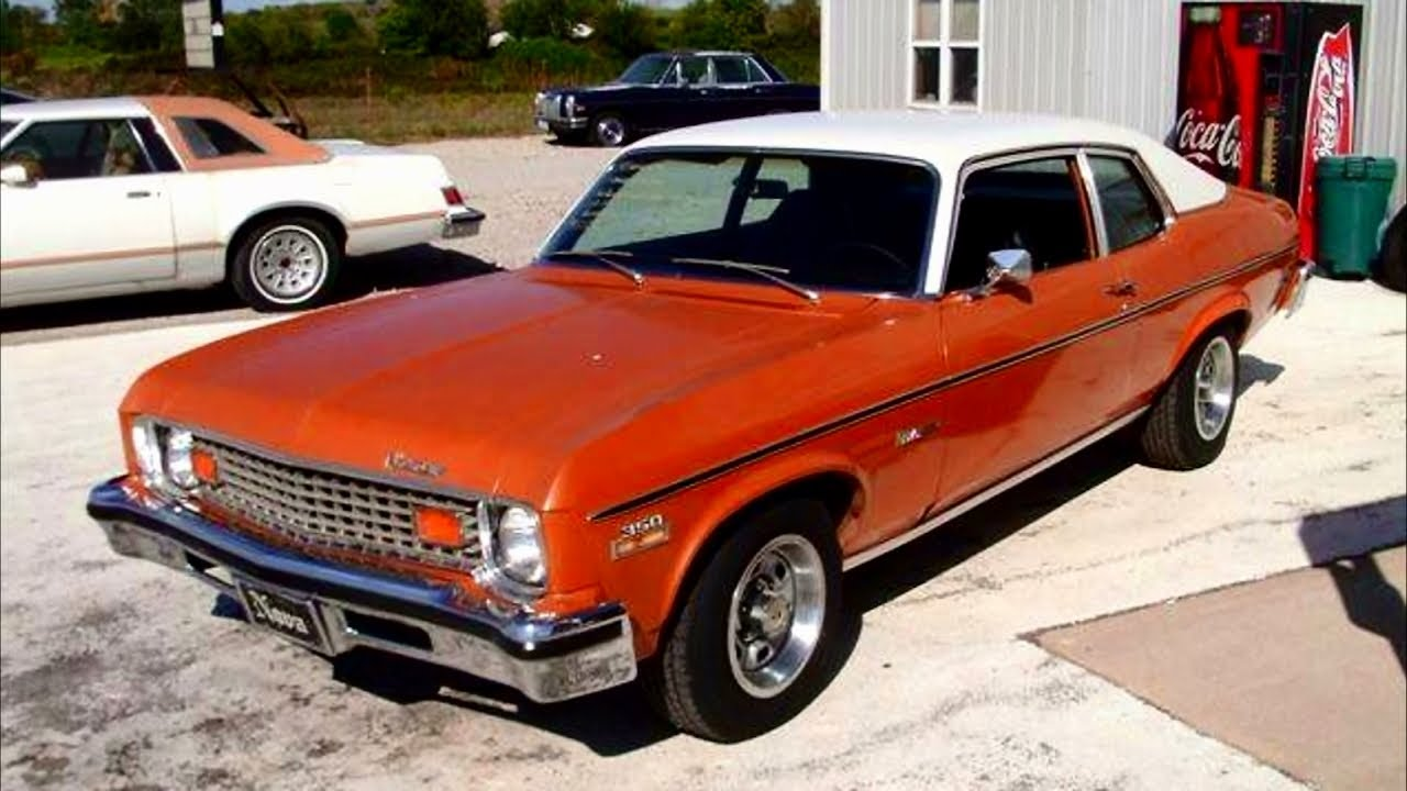 All Chevy 1973 chevy nova : 1973 Chevy Nova Custom 66,xxx Actual Miles One Owner Car - YouTube
