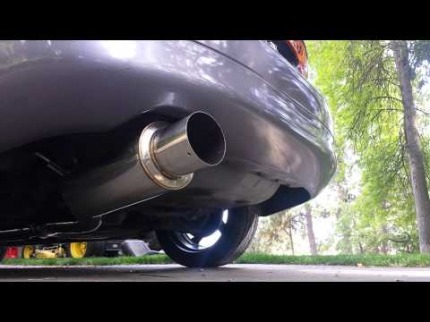 SRS Catback Exhaust on Eagle Talon TSi