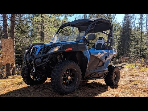 2019 CFMOTO ZForce 800 Trail First Impressions!