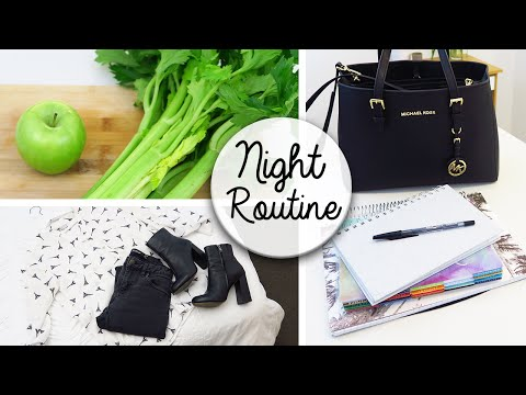 Organisation Night Routine - Prepare For Tomorrow