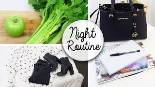 Organisation Night Routine - Prepare For Tomorrow