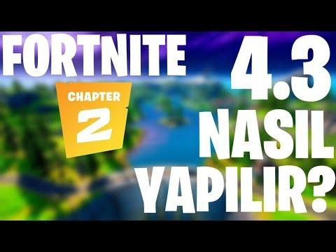 11. SEZON 4.3 NASIL YAPILIR ? 4.3 YAPMA (Fortnite Türkçe)