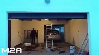 Ворота гаражные подъемные секционные в Бресте и пригороде