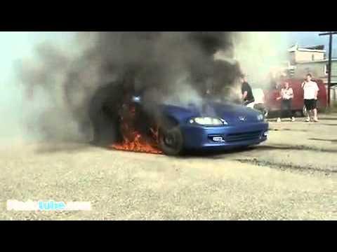 รถเเรงขอโชว์ ดูดีๆว่าเกิดอะไรขึ้น!!