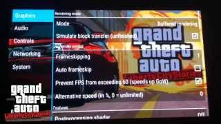 """PPSSPP 1.0 Best Settings for """"Grand Theft Auto: Liberty City Stories""""  [PSP Emulator on Android]"""