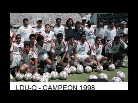 LIGA DEPORTIVA UNIVERSITARIA DE QUITO Y SUS CAMPEONATOS 1969 - 2010