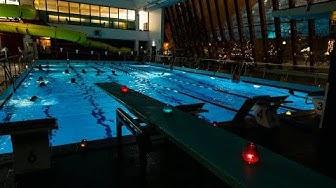 Uimahalli Vesihiisi | kynttiläuinti | Rovaniemi | Suomi