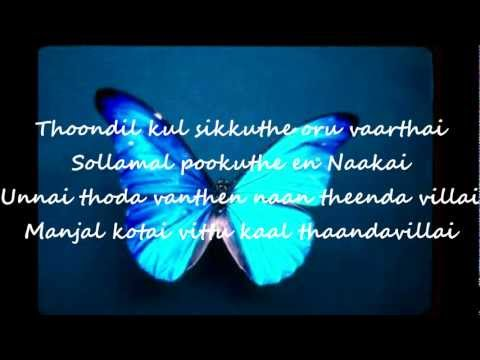 Kadhal Oru Butterfly HQ with Lyrics