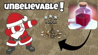 OMG ! UNBELIEVABLE 😓 SANTA SPELL -- 3 STAR ANY BASE ? -- CLASH OF CLANS .