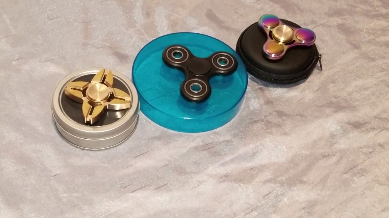 FIDGET SPINNERS GOLDRARE AND BLACK