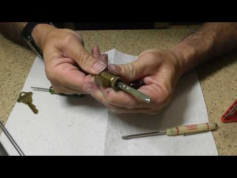 How to ReKey a Schlage DeadBolt Lock