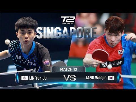 Lin Yun Ju Vs Jang Woojin   T2 Diamond 2019 Singapore (R16)